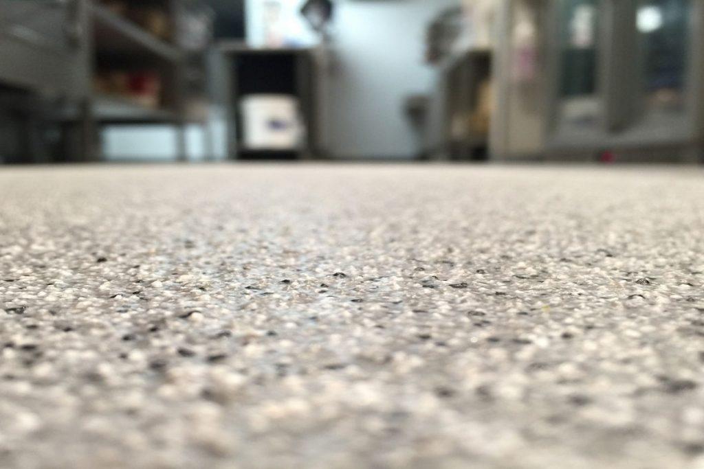 anti-slip resin flooring