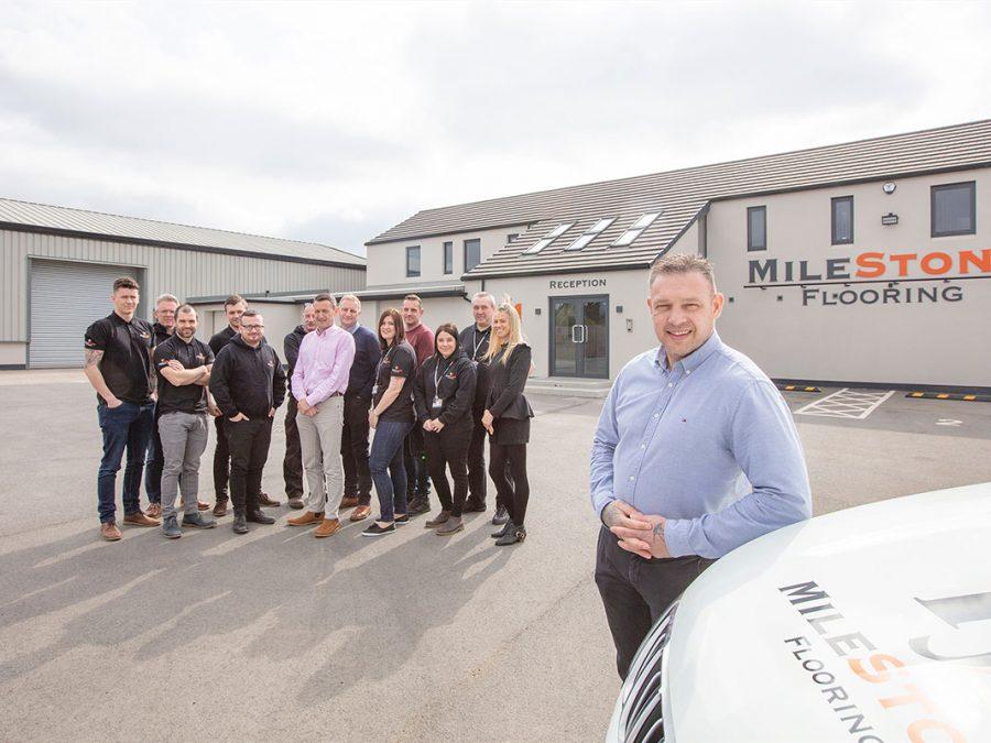 milestone flooring team